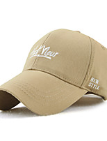 cheap -Unisex Work / Holiday Baseball Cap - Solid Colored