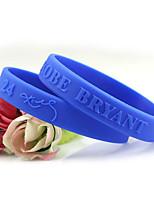 abordables -Homme 3D Bracelet Hologramme - simple, Décontracté / Sport, Mode Bracelet Jaune / Rouge / Bleu Pour Cadeau / Ecole