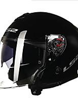 economico -LS2 OF521 Mezzo casco Adulto Unisex Casco del motociclo Smorzamento / Idrorepellente / Antilogoramento