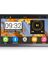baratos -RUNGRACE RL-285AGN18 7 polegada 2 Din Android6.0 Sem fio Integrado / Controle no Volante / sem fio para Universal Áudio / Microfone / GPS Apoio, suporte Mpeg / WMV / RM JPEG / PNG / JPG