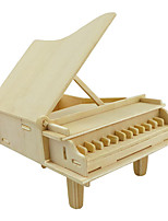 cheap -Wooden Puzzle Piano 3D Cartoon Wooden 1 pcs Teenager All Gift
