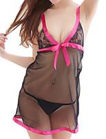 abordables -Costumes Vêtement de nuit Femme - Maille, Couleur Pleine