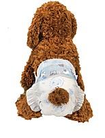 baratos -Cachorros Limpeza Conjuntos de Treino / Toalhas Portátil / Manter Quente / Dobrável Branco