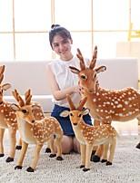cheap -Deer Stuffed Animal Plush Toy Animals / Lovely Acrylic / Cotton Gift 1 pcs