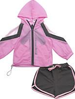 cheap -Kids Girls' Striped Long Sleeve Clothing Set