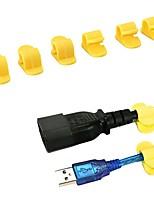 abordables -Carcasse de plastique Vert / Rose Claire 8pcs Clip / Câble de contrôle / Pinces et supports 18*8*1 cm