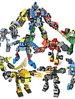 cheap -8 In 1 Building Blocks 739 pcs Robot Transformable / Creative Gift