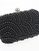 cheap -Women's Bags Acrylic Evening Bag Pearls White / Black