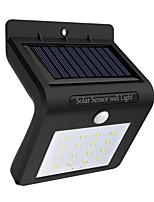 abordables -1pc 0.5 W Led luz de calle / Luz de pared solar Solar / Sensor de infrarrojos / Impermeable Blanco 3.7 V Iluminación Exterior / Patio / Jardín