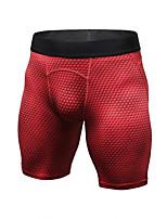 abordables -Homme Shorts de Course - Rouge, Bleu, Pourpre foncé Des sports Couleur Pleine Cuissard  / Short Tenues de Sport Séchage rapide, Design