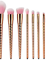 cheap -8pcs Makeup Brushes Professional Makeup Brush Set Nylon fiber Eco-friendly / Soft Plastic