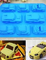 Недорогие -Инструменты для выпечки Силикон 3D в мультяшном стиле / Своими руками Торты / Печенье / Шоколад Формы для пирожных / Формы для нарезки печенья / Десертные инструменты 1шт