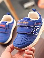 economico -Da ragazzo Scarpe Similpelle Primavera & Autunno Comoda Sneakers Nastro a strappo per Bambini Blu scuro / Rosso / Royal Blue