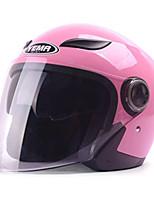 economico -YEMA 619 Mezzo casco Adulto Unisex Casco del motociclo Resistente agli urti / Anti-UV / Antivento
