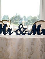 abordables -En bois N / C Cérémonie Décoration - Mariage Mariage