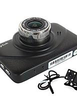 abordables -Anytek X18 1080p Visión nocturna / Lente dual DVR del coche 130 grados Gran angular 3 pulgada Dash Cam con G-Sensor / Grabación en Bucle
