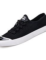 cheap -Men's Shoes Canvas Summer Comfort Sneakers Black / Gray