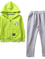 cheap -Kids Girls' Geometric Long Sleeve Clothing Set