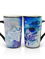 cheap -Drinkware Porcelain Mug Heat-Insulated / Heat Sensitive Color-changing 1 pcs