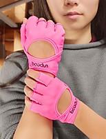 Недорогие -BOODUN Тренировочные перчатки Lycra® Прочный Полная защита кистей и надёжный захват Дышащий Быстровысыхающий Бодибилдинг Для Мужчины Женский палец Для спорта и активного отдыха