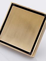 Недорогие -Слив Новый дизайн / Многофункциональный Античный Латунь 1шт Односпальный комплект (Ш 150 x Д 200 см) Установка на полу