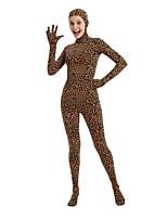 economico -Costumi zentai con motivi / Costumi Cosplay Costumi Zentai Costumi Cosplay Marrone Maculato Lycra e Spandex / Elastico Unisex Halloween / Carnevale / Mascherata