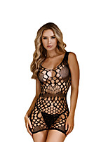 cheap -Women's Babydoll & Slips Nightwear - Cut Out, Solid Colored