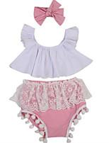 cheap -Baby Girls' Geometric Sleeveless Clothing Set