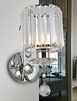 cheap -Crystal / New Design Modern / Contemporary Wall Lamps & Sconces Living Room / Bedroom Metal Wall Light 220-240V 40 W