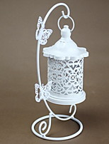 cheap -Simple Style / European Style Iron Candle Holders Candlestick 1pc, Candle / Candle Holder