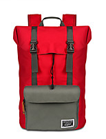 cheap -40 L Daypack / Backpack - Wearable Hiking, Camping, Travel Oxford Black, Red