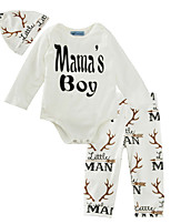 cheap -Baby Girls' Basic Solid Colored Long Sleeve Clothing Set / Toddler