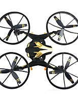 Недорогие -RC Дрон NH009 Готов к полету 10.2 CM 6 Oси 2.4G С HD-камерой 2.0MP 720P Квадкоптер на пульте управления Прямое Yправление Квадкоптер Hа пульте Yправления / Пульт Yправления / Камера