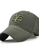 cheap -Unisex Work / Basic Baseball Cap - Solid Colored