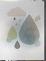 Недорогие -Оконная пленка и наклейки Украшение Геометрия Геометрический принт ПВХ Стикер на окна