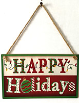 cheap -Party & Evening / Thanksgiving Wooden Wedding Decorations Family Winter
