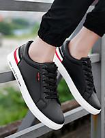 Недорогие -Муж. Полиуретан Лето Удобная обувь Кеды Белый / Черный / Wit En Groen