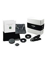 abordables -Lentille de téléphone portable Lentille Grand Angle Acrylique Macro 15X 0.01 m 70 °