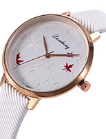 baratos -Mulheres Relógio de Pulso Relógio Casual / Legal PU Banda Casual / Fashion Preta / Branco / Verde