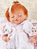 Недорогие -FeelWind Куклы реборн Девочки 18 дюймовый как живой Детские Девочки Подарок