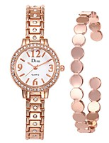 Недорогие -Жен. Нарядные часы / Часы-браслет Китайский Творчество Нержавеющая сталь Группа Мода / Элегантный стиль Серебристый металл