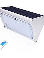 abordables -1pc 8 W Led luz de calle / Luz de pared solar Solar / Impermeable / Control de luz Blanco 3.2 V Iluminación Exterior / Patio / Jardín