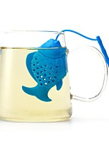 cheap -Silicone Cute / Tea Small Fish 1pc Filter / Tea Strainer / Infuser