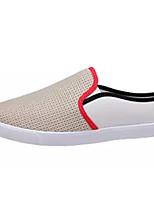 abordables -Homme Chaussures Tulle Printemps & Automne Confort Mocassins et Chaussons+D6148 Noir / Beige / Bleu