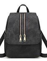 cheap -Women's Bags PU(Polyurethane) Backpack Zipper Coffee / Light Gray / Brown