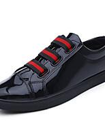 cheap -Men's Shoes PU(Polyurethane) Spring / Summer Comfort Sneakers Black