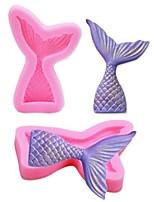 Недорогие -Инструменты для выпечки Силиконовый гель Cool / 3D / Своими руками Торты / День рождения Животный принт Формы для пирожных 1шт