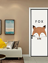 baratos -Autocolantes de Parede Decorativos / Porta Adesivos - Etiquetas de parede de animal / Muro de férias Adesivos Animais / Natal Sala de