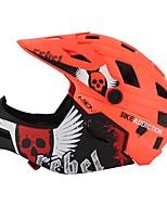 abordables -MOON Adolescent Casque de vélo / BMX Casque 22 Aération ESP+PC, EPS, EVA Des sports Activités Extérieures - Jaune / Vert / Bleu Unisexe