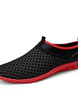 Недорогие -Муж. обувь Полиуретан Лето Удобная обувь Мокасины и Свитер Красный / Зеленый / Синий